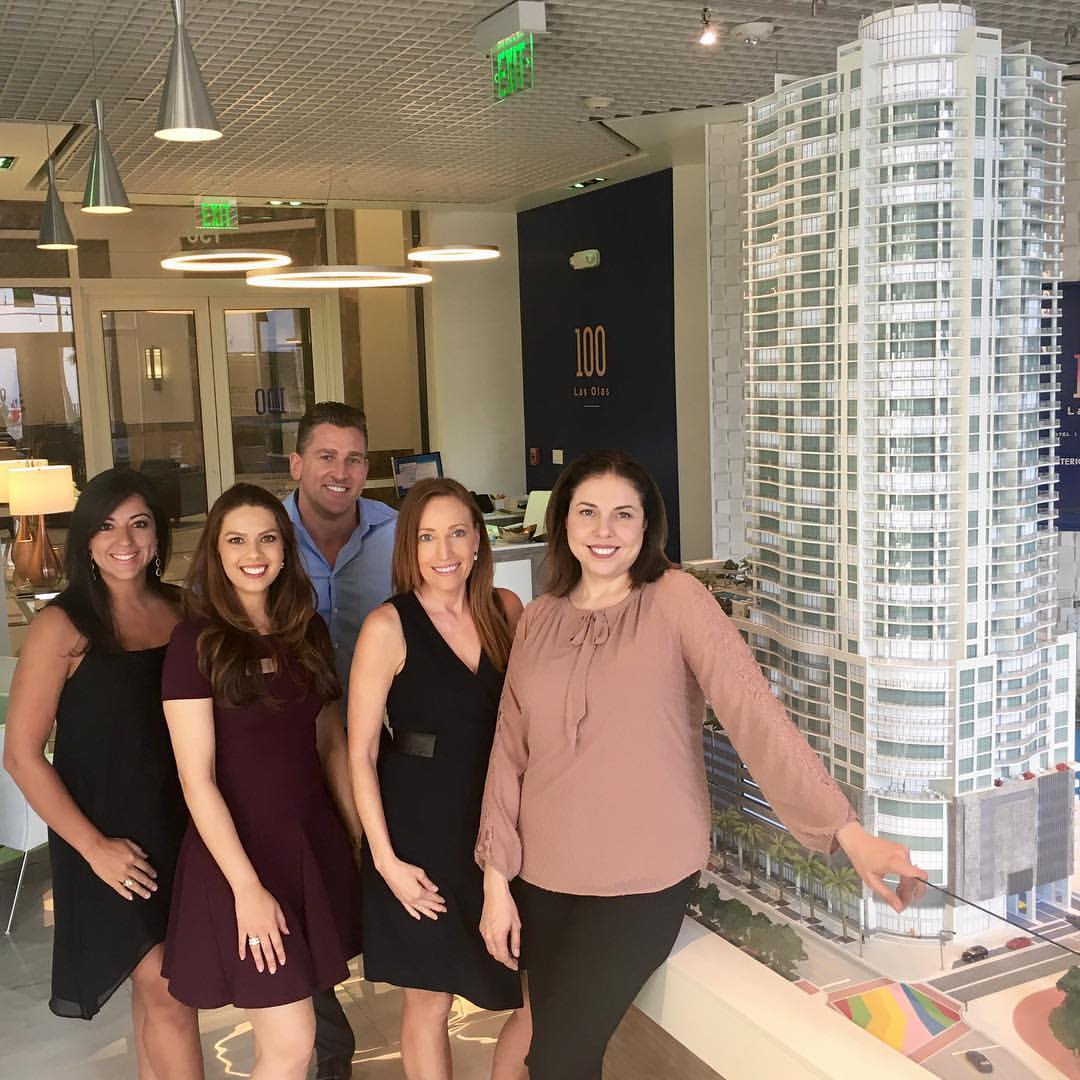 Meet The Sales Team at 100 Las Olas