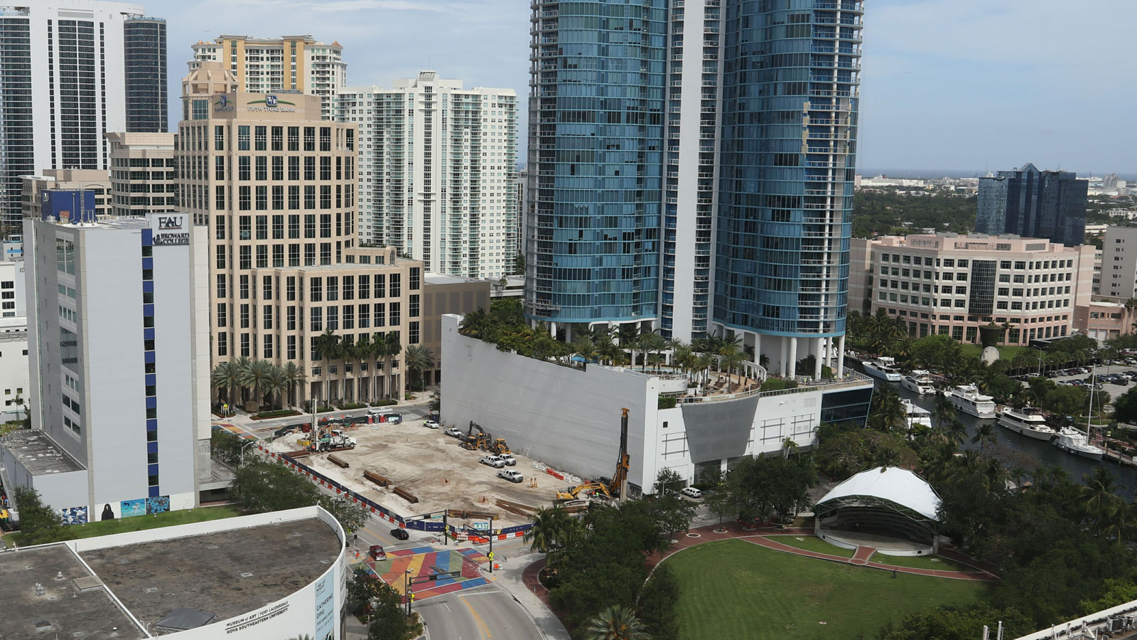 100 Las Olas Construction June 2017