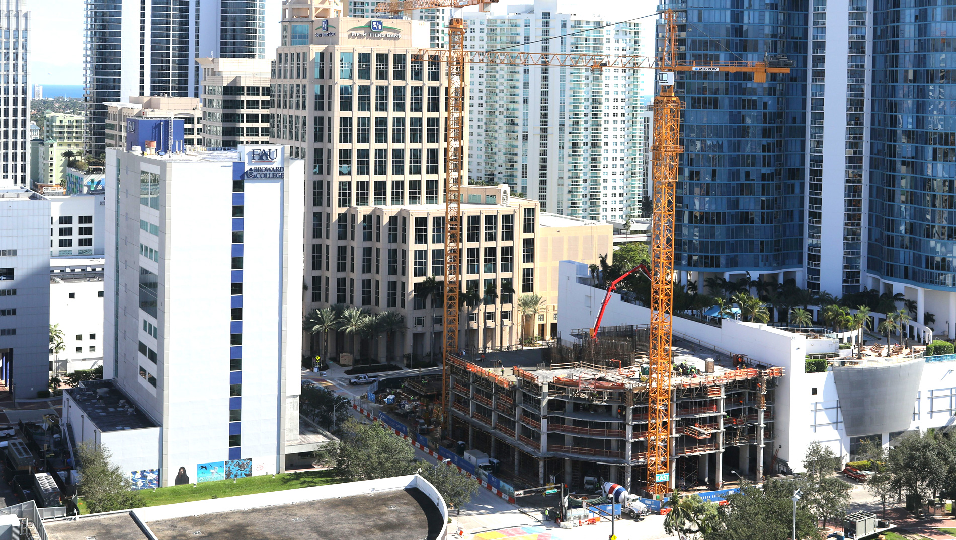 December Construction Update 100 Las Olas