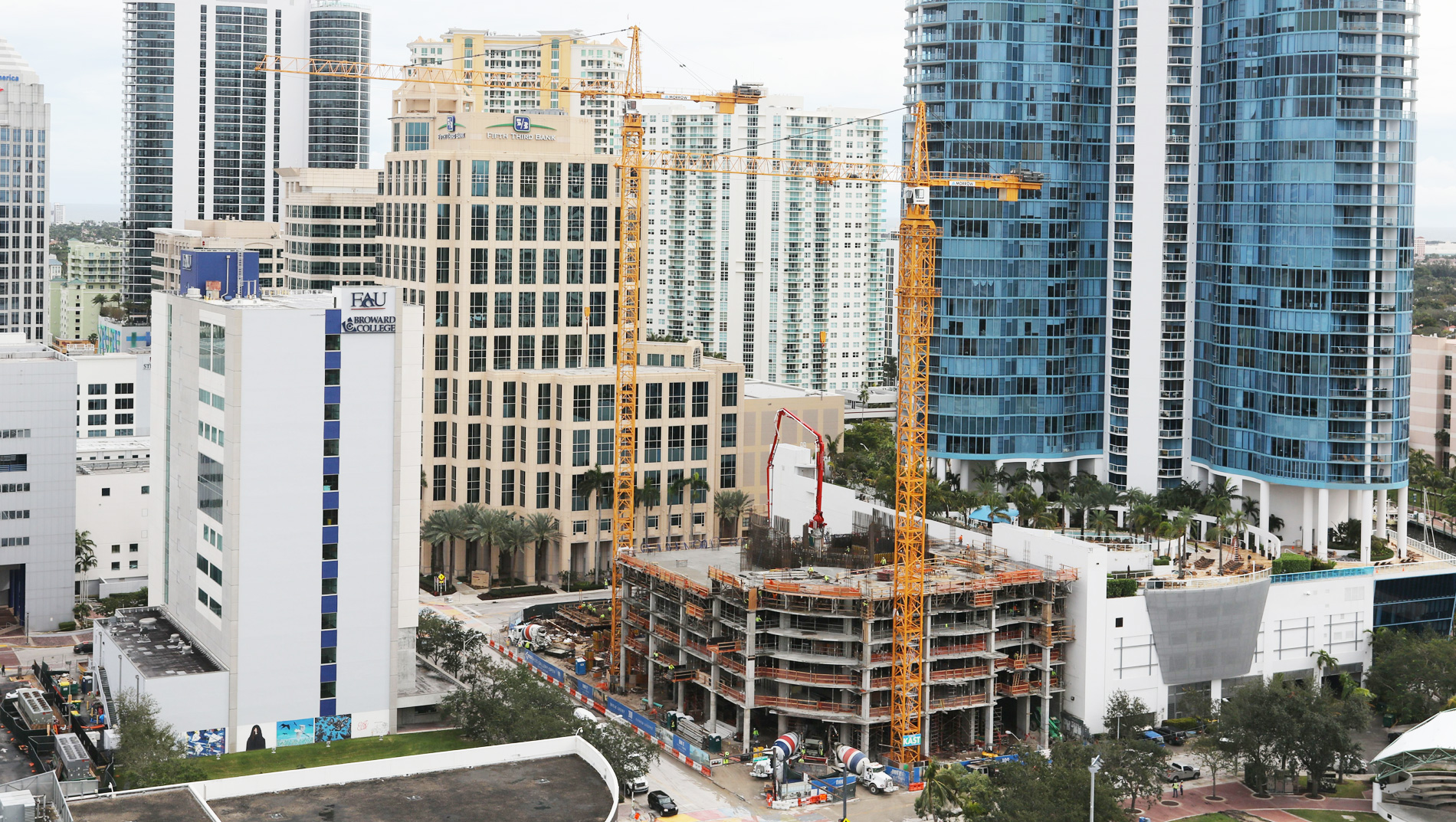 January Construction Update 100 Las Olas
