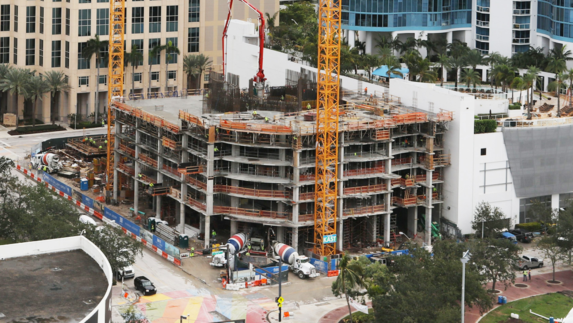 January 2018 Construction Update 100 Las Olas