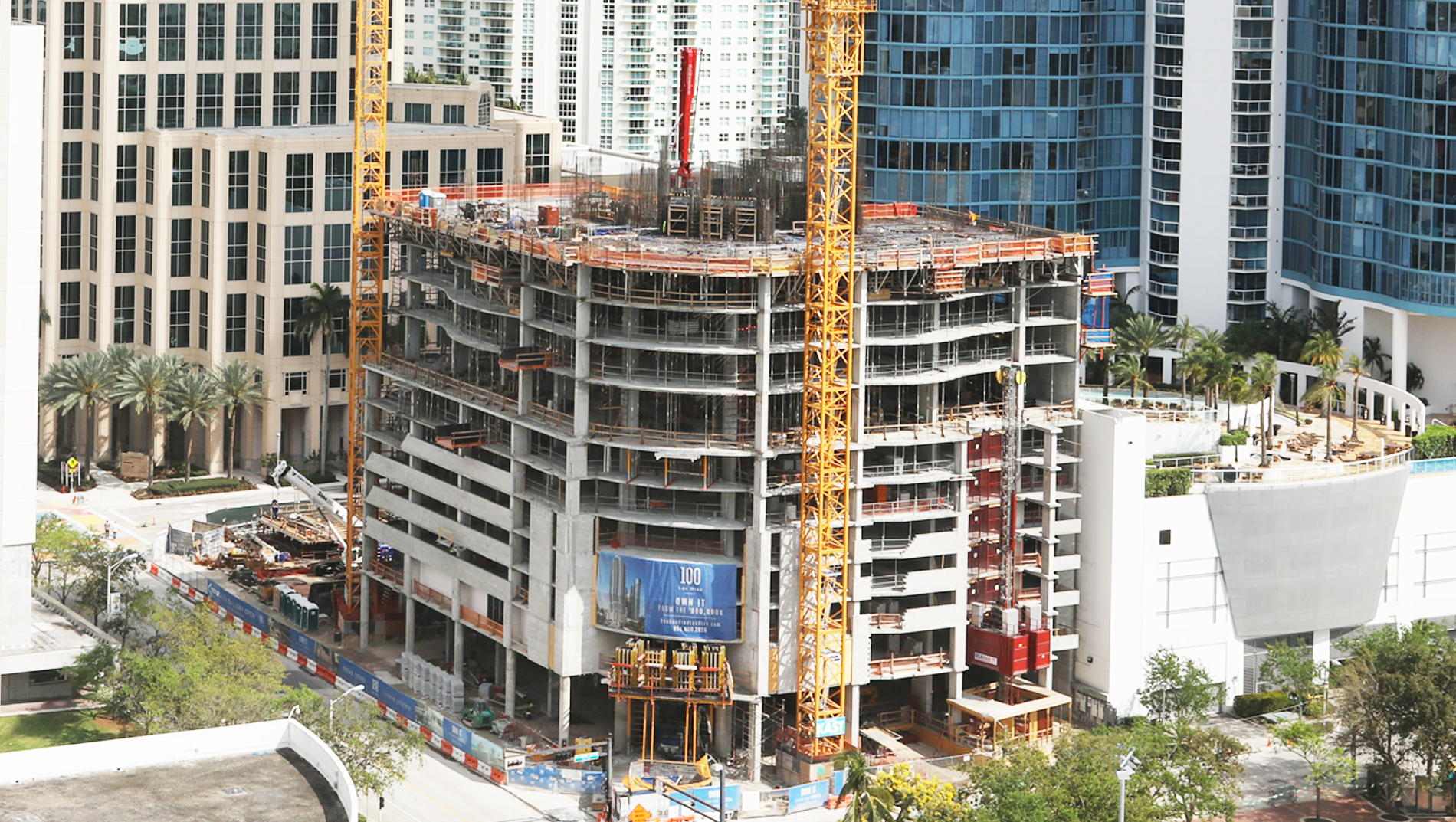 100 Las Olas Construction 3.12 2018