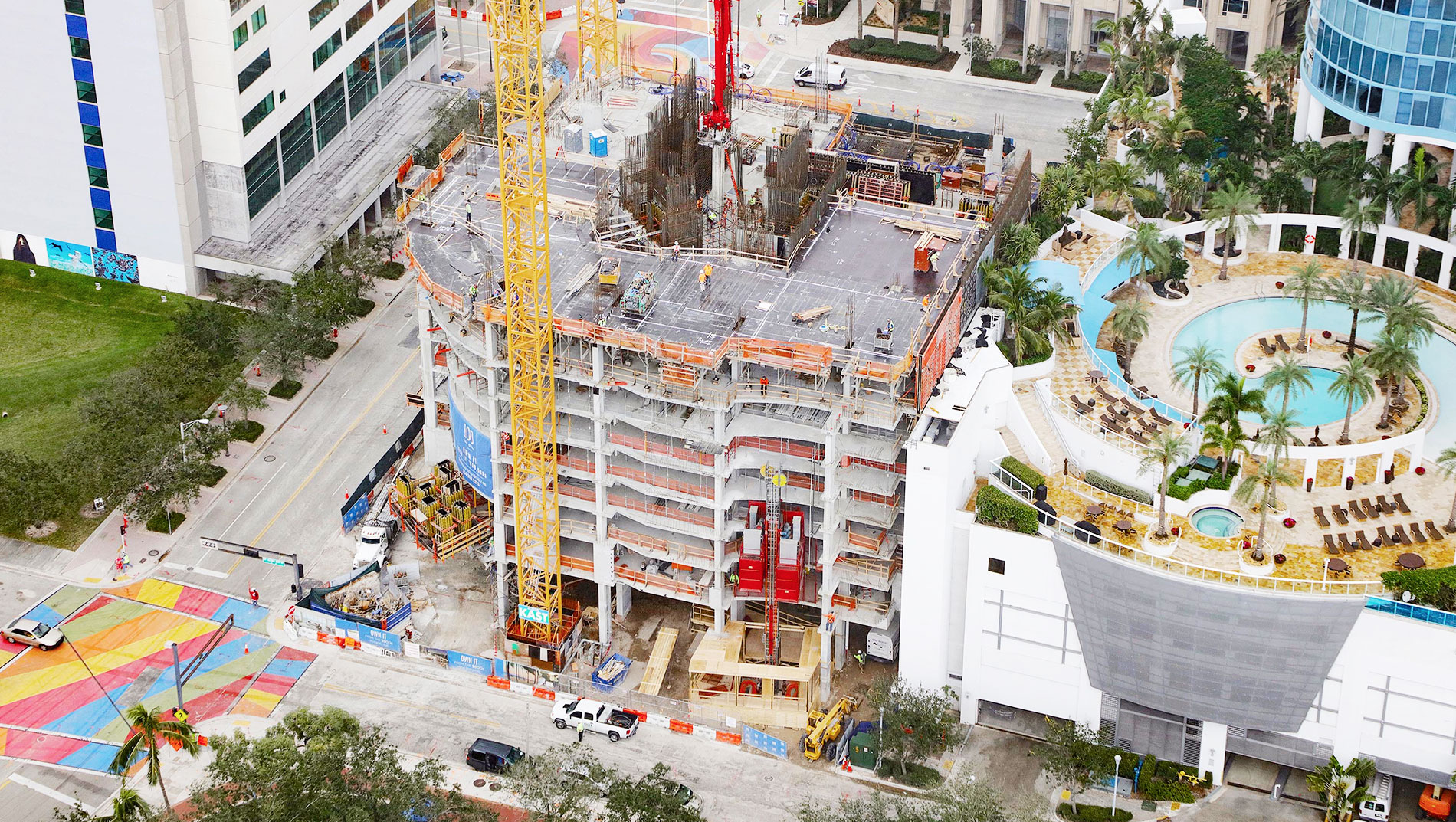 February 2018 Construction 100 Las Olas