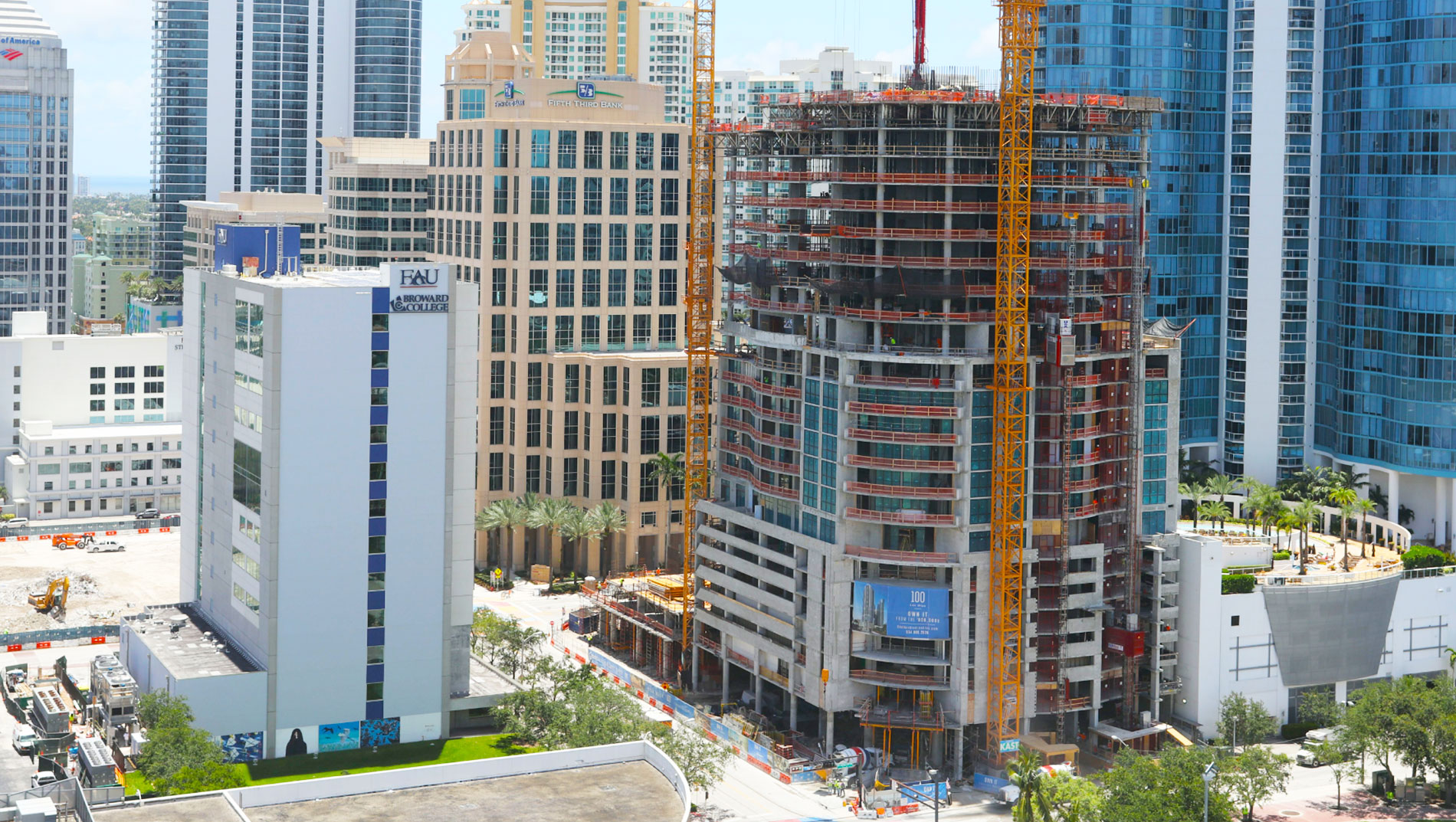 100 Las Olas June 2018 Construction Update