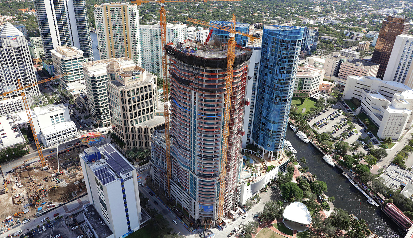 100 Las Olas Construction Update November 2018