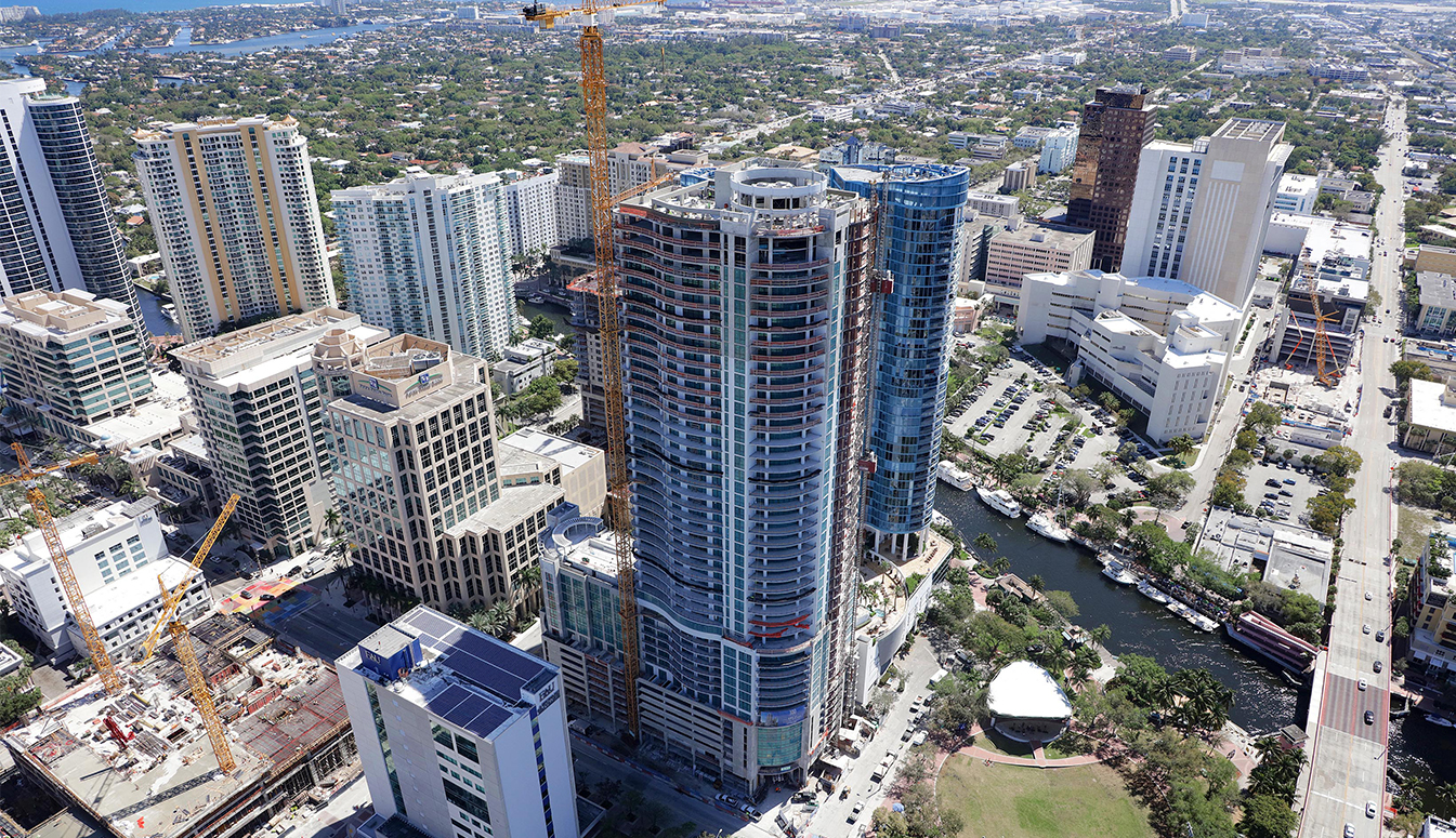 100 Las Olas, March 2019 Construction