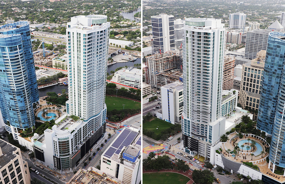 100 Las Olas October Construction Update 2019