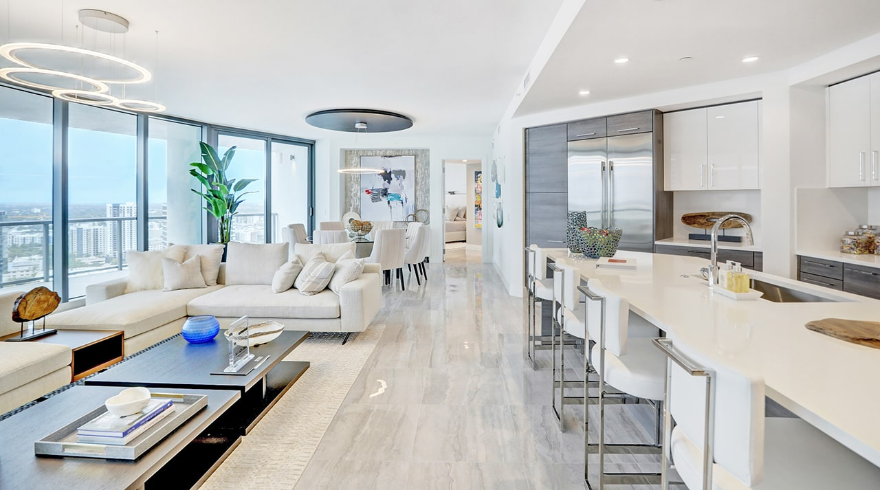 Newly Constructed 100 Las Olas Builds in Clean-Air Standards