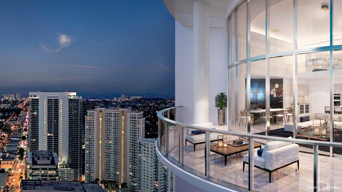 Penthouse 4603 Exterior Rendering