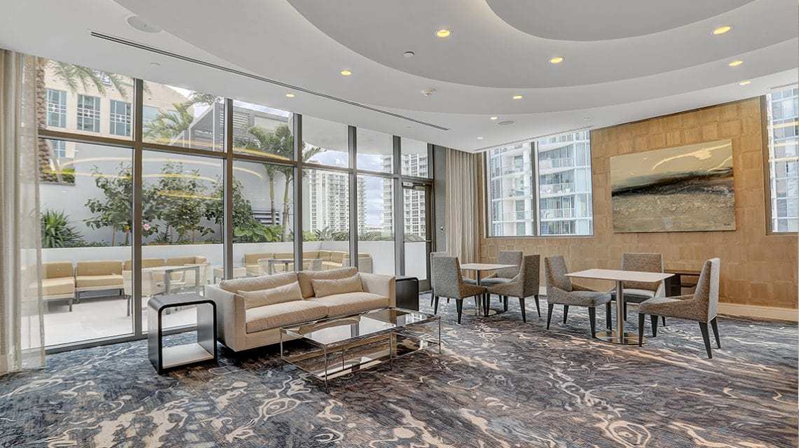 100 Las Olas Resident Club Room