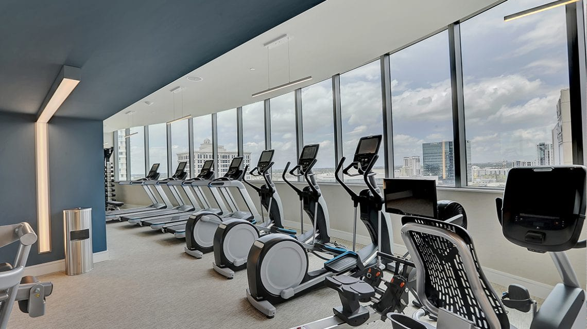 100 Las Olas Resident Fitness Center