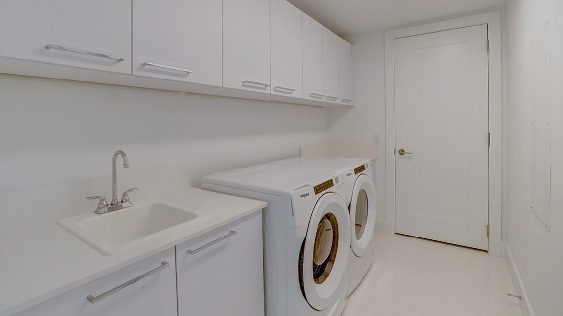 Residence 2301-A Laundry Room